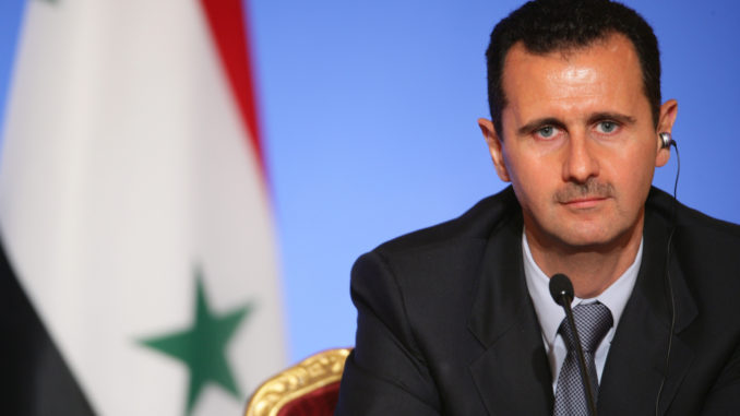 Assad accuses Israel of panicking after losing their 'dear ISIS' in Syria