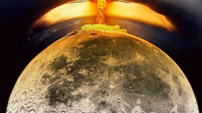 Air Force Colonel claims aliens prevented U.S. from dropping atomic bomb on the moon