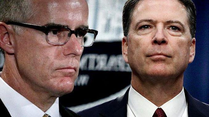 Feds finally charge Andrew McCabe, put Comey in dock