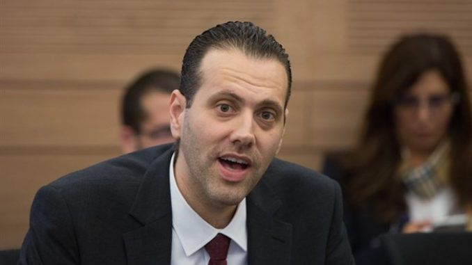 Israeli lawmaker stuns parliament by suggesting that Israeli race is superior to all others