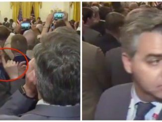 CNN's Jim Acosta could lose WH press credentials after screaming at President Trump