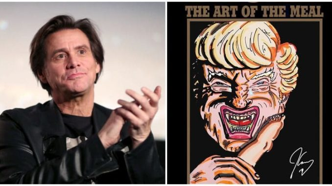 Actor Jim Carrey accuses Trump of eating foreign babies