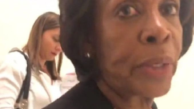 Maxine Waters wanted by police for assaulting female reporter