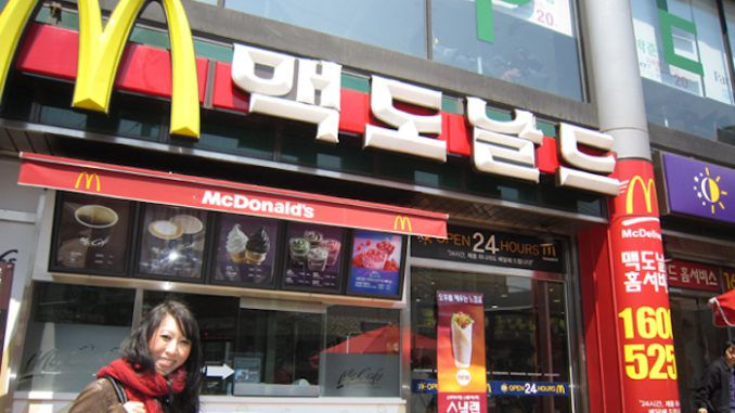Trump convinces North Korea to open up their very first McDonald's restaurant
