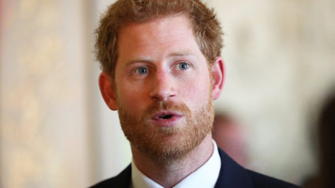 Prince Harry says he supports Trump and Brexit