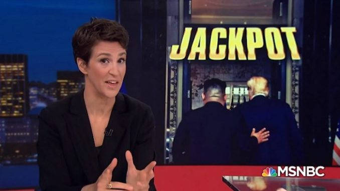Rachel Maddow blasts Trump for ending North Korea war, says its a Russian conspiracy