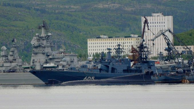 36 Russian warships have been deployed towards Europe as part of a huge surprise training drill