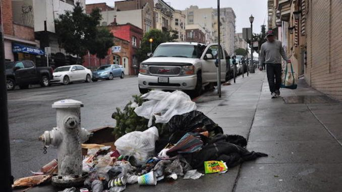 Tourists vote San Fransisco as world's filthiest hellhole