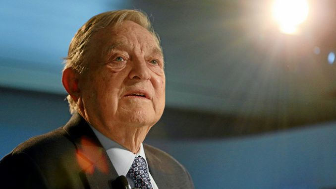 George Soros accuses Italy's right-wing populists of being funded by Russia