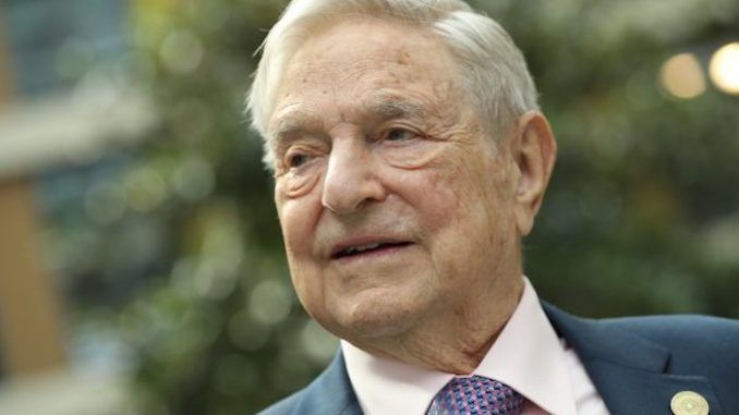 Soros says Trump is destroying the world he created