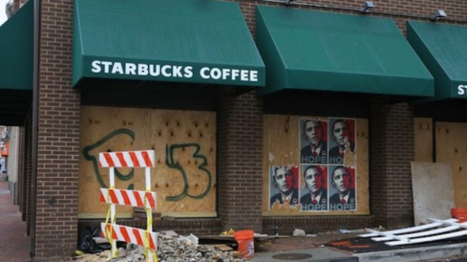 Starbucks faces collapse as hundreds of stores close following open-bathroom policy