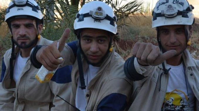 State Department decides to continue funding The White Helmets