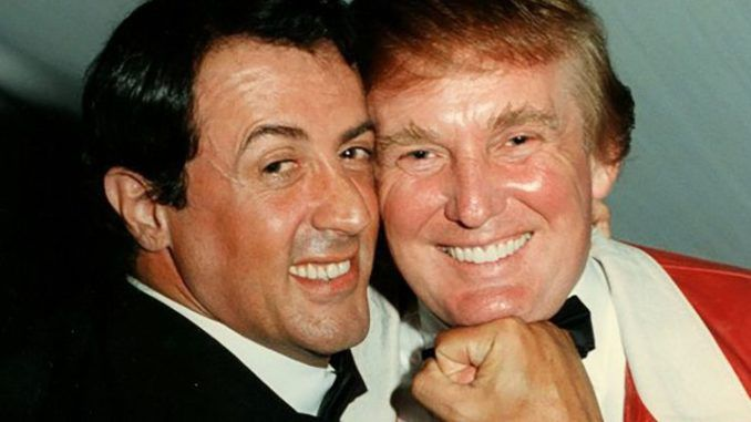 Sylvester Stallone says he is being framed by Democrats for supporting Trump