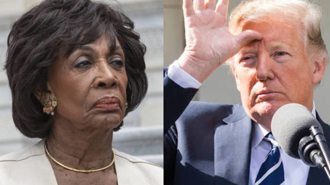 President Trump thanks Maxine Waters for handing Republicans 2018 victory