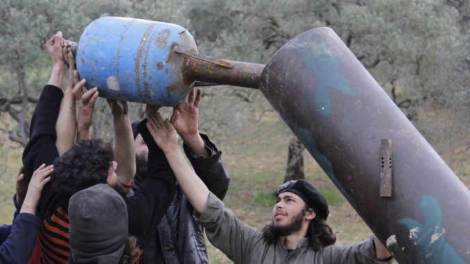 US special forces training jihadists to stage chemical attack in Syria