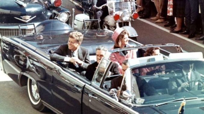 Two U.S. soldiers intercepted plans to assassinate President John F. Kennedy, according to recently released CIA files on JFK.