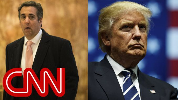 CNN ratings plunge due to overhyped Trump Cohen tape coverage
