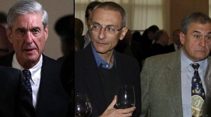 Robert Mueller grants Podesta brothers blanket immunity if they help bring down Trump