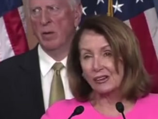 """Nancy Pelosi slurred her way through her latest speech, mangling names and struggling to pronounce multisyllabic words like """"intelligence""""."""