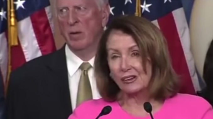 "Nancy Pelosi slurred her way through her latest speech, mangling names and struggling to pronounce multisyllabic words like ""intelligence""."