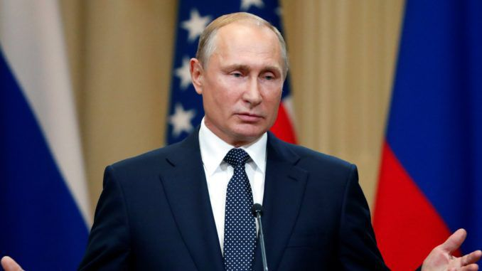 Putin accuses Hillary Clinton of accepting laundered money via US intelligences services