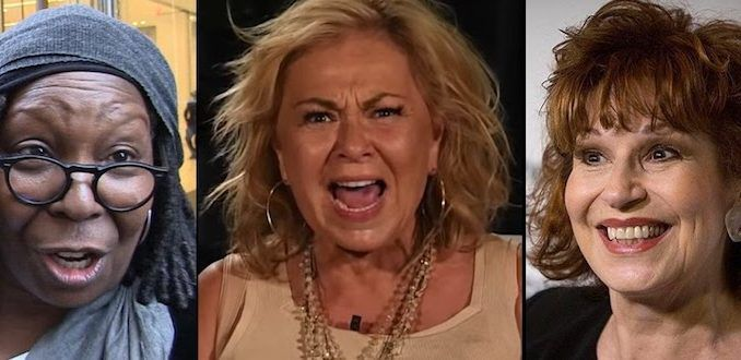 Roseanne Barr humiliated Whoopi Goldberg and Joy Behar after they tried to defend a Hollywood director who posted pedophilia related content.