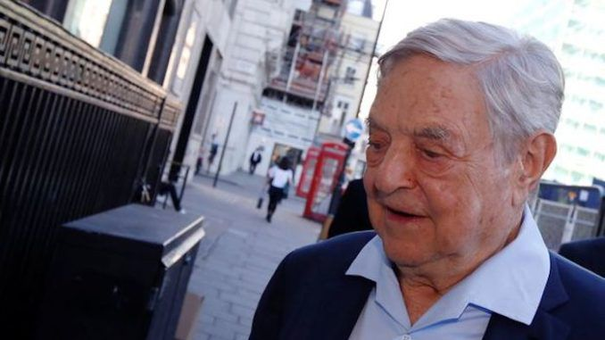 Billionaire George Soros has been slapped with a fine by the Electoral Commission for operating illegally during the Brexit campaign.