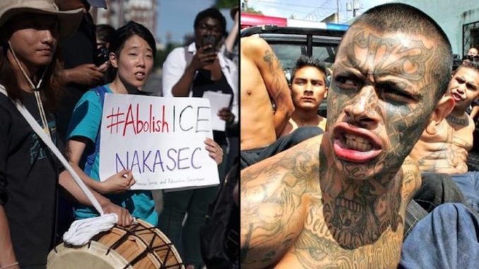 Illegal immigrants celebrate as Dems introduce abolish ICE bill