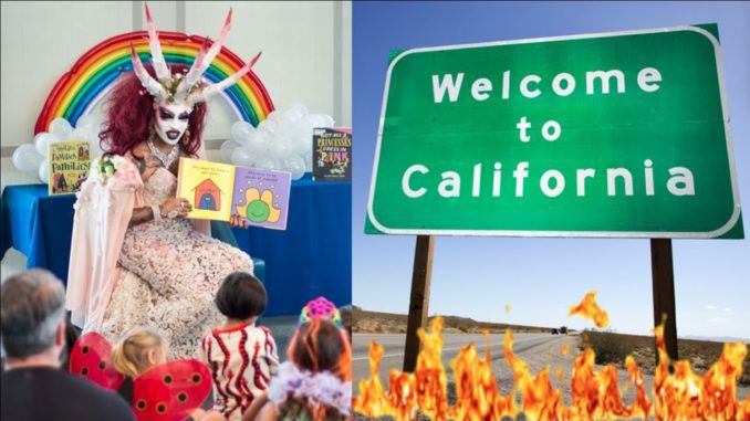 California officially declares largest insane asylum in the world