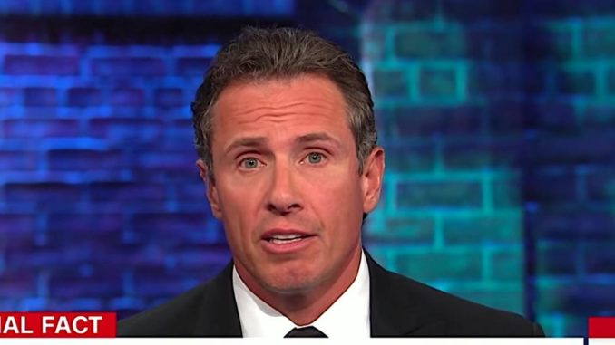 Chris Cuomo says Trump's dislike of CNN is treasonous