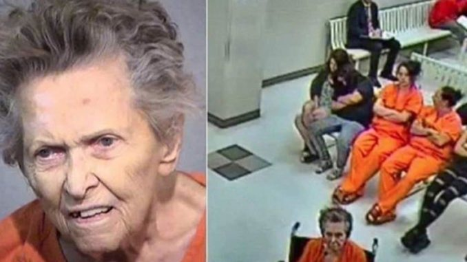 A 92-year-old woman in Arizona shot and killed her son after an argument during which he announced plans to put her into an elderly care home.