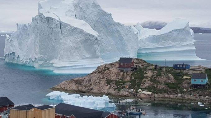 Tsunami warning issued in Greenland as giant iceberg alarms scientists