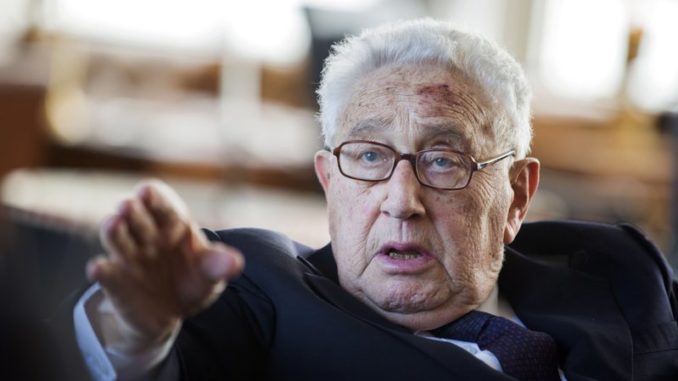 For the past 54 years, Henry Kissinger has served as a prime example of how a shadowy group controls the world from behind the scenes.