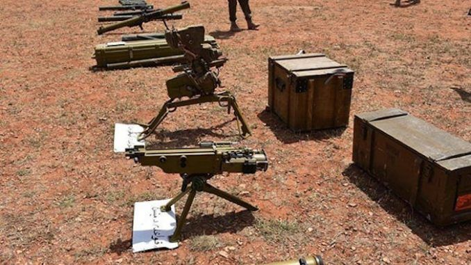 Israeli military equipment and food found in al-qaeda positions in Syria
