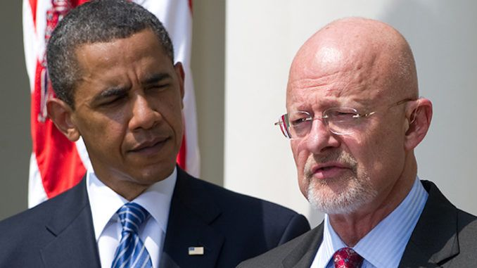 James Clapper admits Barack Obama is behind entire Russia witch hunt