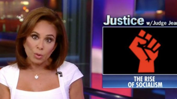 Judge Pirro warns socialism has taken over the Democratic party
