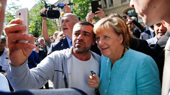 According to figures released by Angela Merkel's German government, it takes 12 taxpayers to fund a single migrant.