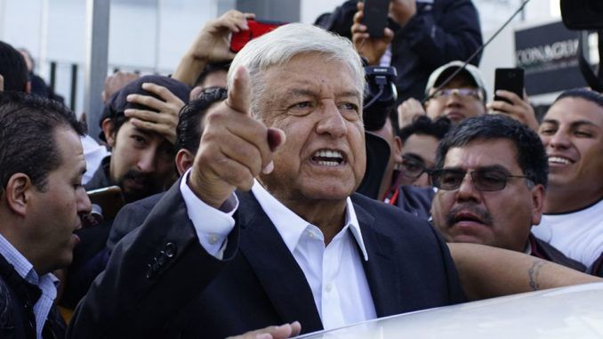 "Mass immigration to the US through an open border is a Mexican ""human right"", according to Mexico's new socialist president."