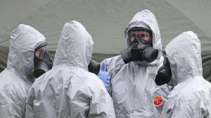 Novichok came from UK lab, authorities confirm