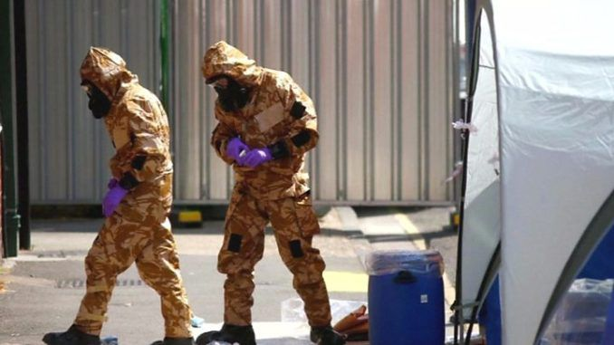 Source of Novichok traced back to victim's home