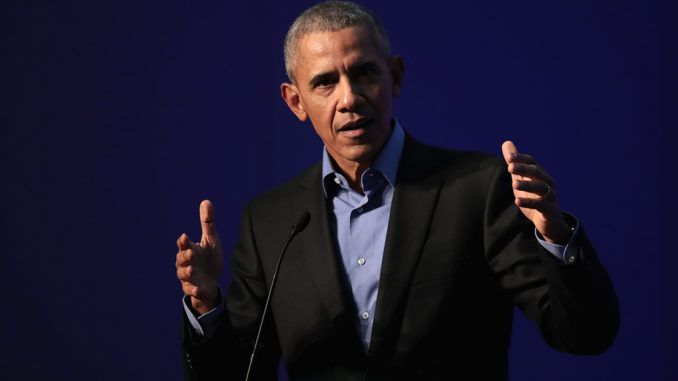 """Barack Obama threatened to """"do something"""" about President Trump at a DNC fundraiser in California on Friday, according to reports."""