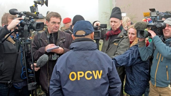 OPCW report reveals Syria possesses no chemical weapons