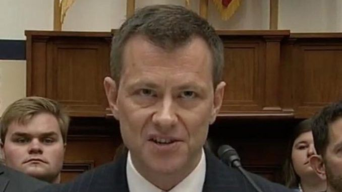 Peter Strzok is funded by the CIA, investigators say