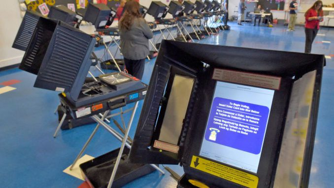 Remote-access software was installed in some U.S. voting machines by a top vendor, leaving them vulnerable to hackers, Congress has learned.