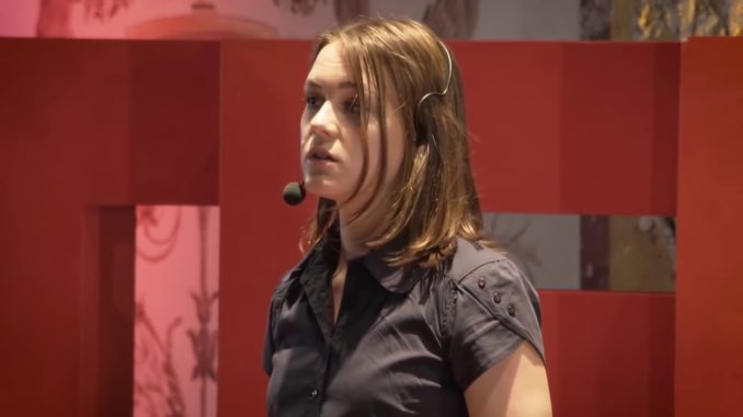 """During a TEDx Talk, Mirjam Heine from University of Würzburg claimed """"pedophilia is a natural sexual orientation, just like heterosexuality""""."""
