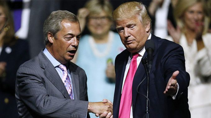 Downing Street bans Trump from meeting Nigel Farage during UK visit