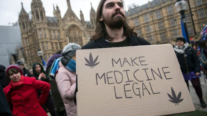 UK government to legalize medical cannabis