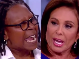 ABC under pressure to fire Whoopi Goldberg after she spat in Judge Jeanine Pirro's face