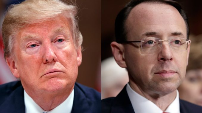 President Trump to overrule Rosenstein and declassify all FISA docs