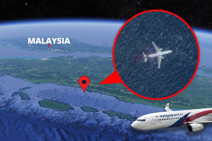 Missing Malaysia flight MH370 discovered on Google Maps
